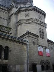 Basilique Saint-Martin - Basilique Saint-Martin de Tours (Indre-et-Loire, France), nord