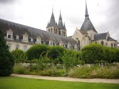 Ancienne abbaye Saint-Lomer, ou ancien Hôtel-Dieu - Français:   Ancienne abbaye Saint-Lomer de Blois (Loir-et-Cher, France), façade nord-est; chevet de l\'église Saint-Nicolas