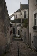 Ancienne abbaye Saint-Lomer, ou ancien Hôtel-Dieu - Français:   Abbaye Saint-Laumer, Blois, 2016