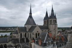 Ancienne abbaye Saint-Lomer, ou ancien Hôtel-Dieu - Français:   Abbaye Saint-Laumer