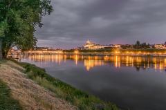 Cathédrale Saint-Louis - English: Cityscape of Blois, Loir-et-Cher, France