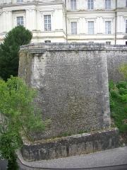 Château de Blois - Château royal de Blois (Loir-et-Cher, France): fortifications sud