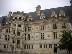 Château de Blois - Château royal de Blois (Loir-et-Cher, France): côté est de l'aile François Ier