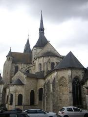Eglise Saint-Nicolas-Saint-Lomer - Église Saint-Nicolas de Blois (Loir-et-Cher, France), chevet