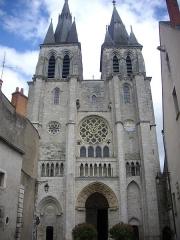 Eglise Saint-Nicolas-Saint-Lomer - Église Saint-Nicolas de Blois (Loir-et-Cher, France), façade sud-ouest