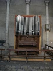 Eglise Saint-Nicolas-Saint-Lomer - Église Saint-Nicolas de Blois (Loir-et-Cher, France), orgue