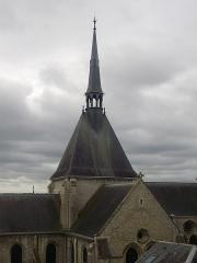 Eglise Saint-Nicolas-Saint-Lomer - Église Saint-Nicolas de Blois (Loir-et-Cher, France), vue de la terrasse du Foix