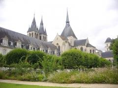 Eglise Saint-Nicolas-Saint-Lomer - Ancienne abbaye Saint-Lomer de Blois (Loir-et-Cher, France), façade nord-est; chevet de l'église Saint-Nicolas