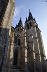 Eglise Saint-Nicolas-Saint-Lomer - Église Saint-Nicolas-Saint-Lomer de Blois, vue de coté