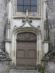 Eglise Saint-Saturnin - Français:   Église Saint-Saturnin de Blois (Loir-et-Cher, France), porte sud