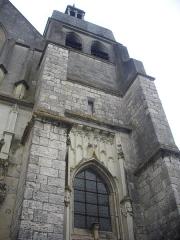 Eglise Saint-Saturnin - Français:   Église Saint-Saturnin de Blois (Loir-et-Cher, France), façade sud-ouest
