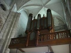Eglise Saint-Saturnin - Français:   Église Saint-Saturnin de Blois (Loir-et-Cher, France), orgue