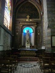 Eglise Saint-Saturnin - Église Saint-Saturnin de Blois (Loir-et-Cher, France), autel de Notre-Dame-de-toute-Ayde