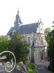 Eglise Saint-Vincent - Église Saint-Vincent-de-Paul de Blois (Loir-et-Cher, France), vue des jardins royaux