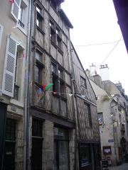 Maison - Français:   Immeubles, 36 & 38 rue Saint Lubin, à Blois (Loir-et-Cher, France)