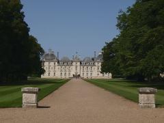 Château de Cheverny - Le Château de Cheverny dans le Loir et Cher