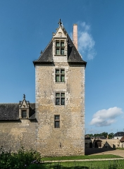 Château - English: Keep of the Castle of Fougères-sur-Bièvre, Loir-et-Cher, France        This building is classé au titre des Monuments Historiques. It is indexed in the Base Mérimée, a database of architectural heritage maintained by the French Ministry of Culture, under the reference PA00098444 .  বাংলা | brezhoneg | català | Deutsch | Ελληνικά | English | Esperanto | español | euskara | suomi | français | magyar | italiano | 日本語 | македонски | Nederlands | português | português do Brasil | română | русский | sicilianu | svenska | українська | +/−        NOTE: This image is a panorama  consisting of 2 frames that were merged or stitched in Adobe Lightroom. As a result, this image necessarily underwent some form of digital manipulation. These manipulations may include blending, blurring, cloning, and color and perspective adjustments. As a result of these adjustments, the image content may be slightly different than reality at the points where multiple images were combined. This manipulation is often required due to lens, perspective, and parallax distortions.  Boarisch | Български | Dansk | Deutsch | Zazaki | Ελληνικά | English | Esperanto | Español | Eesti | Suomi | Français | Hrvatski | Magyar | Italiano | 日本語 | 한국어 | Македонски | മലയാളം | Nederlands | Polski | Português | Русский | Slovenščina | Svenska | Türkçe | 中文 | Українська | +/−