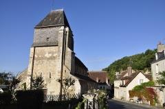 Eglise Saint-Genest - Français:   Eglise de Lavardin (41)