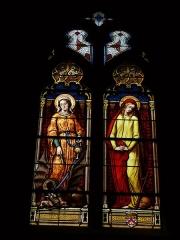 Eglise Saint-Martin - English: Saint-Martin's church of Nouan-le-Fuzelier (Loir-et-Cher, Centre, France).
