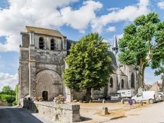 Eglise Saint-Dyé - English: Saint Dyé church of Saint-Dyé-sur-Loire, Loir-et-Cher, France