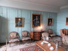 Domaine du château de Talcy - Français:   Petit salon du Château de Talcy