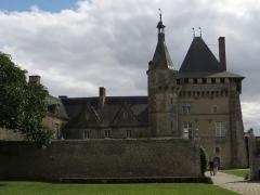 Domaine du château de Talcy - Français:   Château de Talcy, vu du jardin