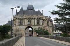 Ancienne porte Saint-Georges - English: Porte Saint-Georges front side