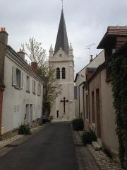 Eglise Saint-Mesmin - Français:   Église de La Chapelle St-Mesmin, Loiret
