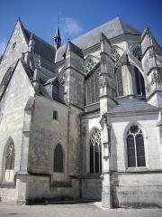 Basilique Notre-Dame - Français:   Basilique Notre-Dame de Cléry-Saint-André (Loiret, France), chevet