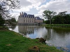 Château de la Ferté - Château de la Ferté Saint Aubin depuis l'arrière