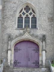 Eglise Saint-Aubin - English: Saint-Aubin's church of La Ferté-Saint-Aubin (Loiret, Centre, France).