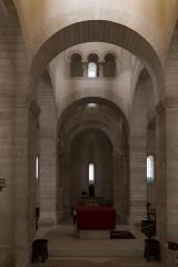 Eglise de la Très-Sainte-Trinité - Église de la Très-Sainte-Trinité ou Oratoire carolingien de Germigny-des-Prés: croisée des transepts.