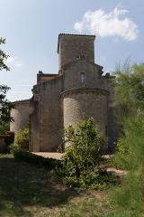 Eglise de la Très-Sainte-Trinité - Église de la Très-Sainte-Trinité ou Oratoire carolingien de Germigny-des-Prés: abside est.