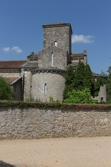 Eglise de la Très-Sainte-Trinité - Français:   Église de la Très-Sainte-Trinité ou Oratoire carolingien de Germigny-des-Prés: transept sud.