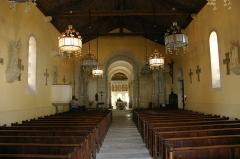 Eglise de la Très-Sainte-Trinité - Deutsch: Kirche von Germigny-des-Prés im Loiret (Region Centre-Val de Loire).