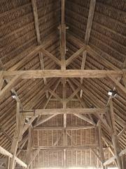 Halle - Français:   Halle de Lorris, XIIème siècle, Loiret, France.