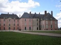 Château - Français:   Château de Meung sur Loire, façade coté jardin
