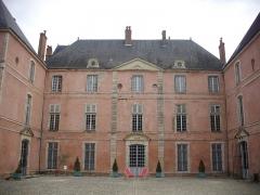 Château - Château de Meung-sur-Loire (Loiret, France), façade sud-ouest