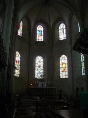Eglise Saint-Liphard - Français:   Collégiale Saint-Liphard de Meung-sur-Loire (Loiret, France), chœur
