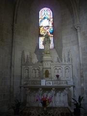 Eglise Saint-Liphard - Français:   Collégiale Saint-Liphard de Meung-sur-Loire (Loiret, France), autel de saint Joseph