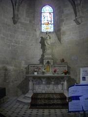 Eglise Saint-Liphard - Français:   Collégiale Saint-Liphard de Meung-sur-Loire (Loiret, France), autel du Sacré-Cœur