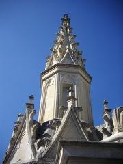 Cathédrale Sainte-Croix - Toits de la cathédrale Sainte-Croix d'Orléans (Loiret, France), pinacle