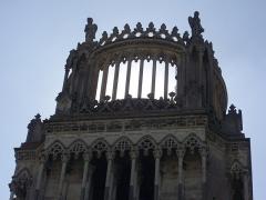 Cathédrale Sainte-Croix - Toits de la cathédrale Sainte-Croix d'Orléans (Loiret, France)