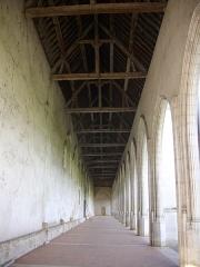 Ancien grand cimetière ou Campo Santo - Français:   Campo Santo d\'Orléans (Loiret, France), arcades occidentales