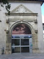 Ancien grand cimetière ou Campo Santo - Français:   Porte  du XVIe siècle, Campo Santo d\'Orléans (Loiret, France)