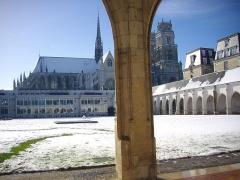 Ancien grand cimetière ou Campo Santo - Campo Santo d'Orléans (Loiret, France) sous la neige