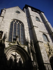 Eglise Notre-Dame de Recouvrance - Église Notre-Dame-de-Recouvrance d'Orléans (Loiret, France), façade occidentale