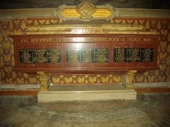 Eglise Notre-Dame de Recouvrance - Église Notre-Dame-de-Recouvrance d'Orléans (Loiret, France), monument aux morts de la Grande Guerre