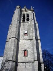 Restes de l'église Saint-Paul -  Tour Saint-Paul à Orléans (Loiret, France)