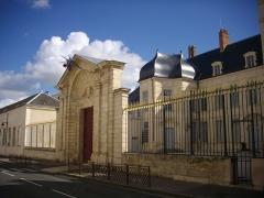 Ancien évêché, puis bibliothèque municipale, actuellement annexe de la médiathèque - Français:   Hôtel Dupanloup, Orléans (Loiret, France)